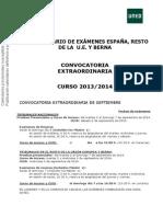 CALENDARIO ESPAÑA, RESTO U.E. Y BERNA.S14