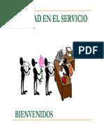 Exposicioncalidad en El Servicio Al Cliente