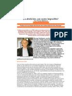 Articulo La Abolicion Un Suenio Imposible Mathiesen