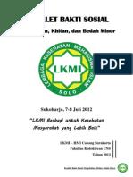 Booklet Baksos Maperca 2012