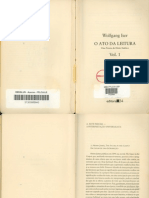ISER, Wolfgang - A Arte parcial - A interpretação Universalista IN O ato da leitura. Vol 1. São Paulo - Editora 34, 1996