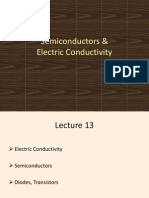 Semiconductors Electric Conductivity