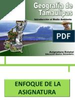 Enfoque de La Asignatura Geografia de Tamaulipas