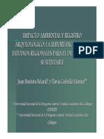 5 - Impacto Ambiental y Registro Arqueologico