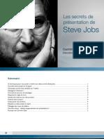 les_secrets_de_présentation Steve Jobs