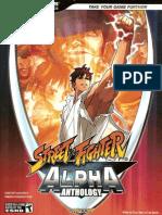 Bradygames - Street Fighter Alpha 1 & 2 & 3 & Gem Fighter