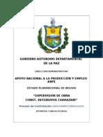 Dbc-Anpe Supervision Construccion Defensivos Charazani
