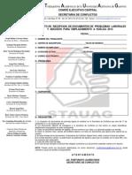Formato de Emplaz a Huelga 2013