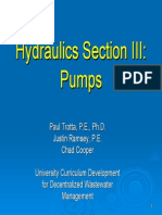 Hydraulics III Pumps Ppt