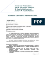 Modelos de Diseño Instruccional