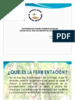 Experiencias sobre fermentación de cacao del Sur Occidente en Guatemala