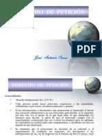 DERECHO DE PETICIÓN-