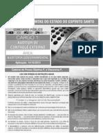 Prova Tce-es 2012 - Auditor Controle Externo - Audgov