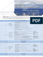 Agenda Foro Urbano Regional