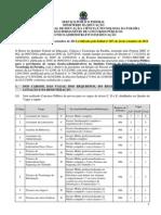 Edital 275 2013 Tecnico Administrativo Retificado Pelo Edital 287-2013