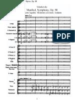 Tchaikovsky - Manfred Symphony, Op. 58