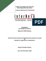 Mejoras Al CRM InterNexo-Dfg3w453r45234w3w2d