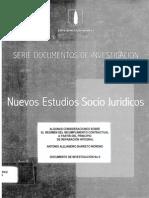 CIJUS - Algunas Consideraciones Sobre El Regimen Del Incumplimiento Contractual a Partir Del Principio De
