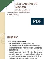 Unidades de Medicion Informacion