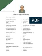 Curriculum Vitae Nicanor