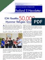 newsletter related to burmese refugee