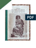 Anais da U.A.M.O.C. Volume II