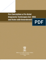 Prenatal Diagnosis Act