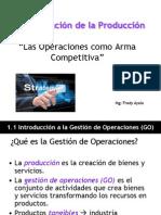 Las Operaciones Como Ventaja Competitiva