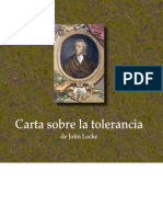 Carta sobre la tolerancia - John Locke