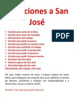 Devociones a San José