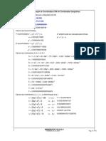 Transformação de Coordenadas UTM em Coordenadas Geográficas_Cleomar_MC-171