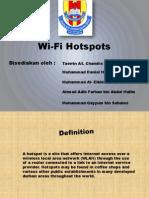 Wi Fi Hotspots