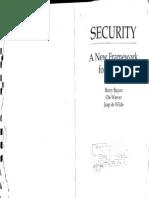 BUZAN, Barry - Security a New Framework for Analysis