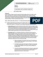 Procedure 200, Advisory 13, May 2012