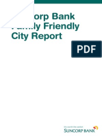 Suncorp Bank Family Friendly City Report