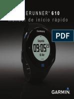 Forerunner 610 QSM PT