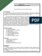 PrÃ_ctica 6_Ley de la conservaciÃ_n de la materia