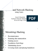 System and Network Hacking