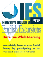 2013 ies english excursions - website edition