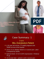 Maternal Collapse in Labour Ward