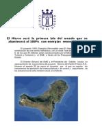 Resumen Proyecto Central Hidroeolica