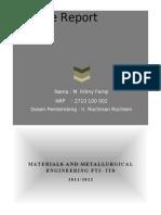 Laporan Metal 1045