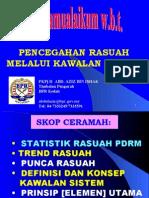 Pencegahan Rasuah Melalui Kawalan Sistem KPSL 22 Sept. 2005
