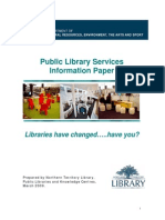 Public Library Information Paper