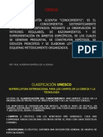 Clasificación UNESCO