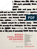 Banned books 2012-2013