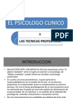 El Psicologo Clinico