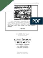 Plaja Guillermo Los Metodos Literarios