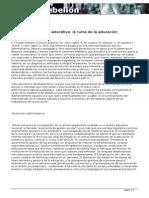 El ABC de La Reforma Eduticativa