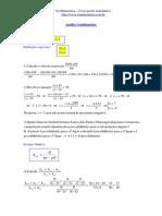 Análise Combinatória - Ensino Médio - SÓ MATEMÁTICA